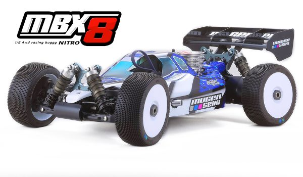 Mugen Seiki MBX8 Nitro 1/8 Kit (Worlds Edition)