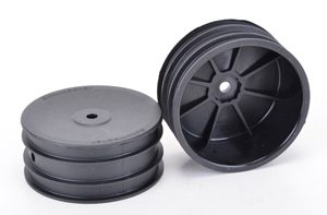 Schumacher wheel - Front 4WD - Black - Off Road (x2)